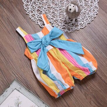 ロンパース カバーオール ベビー 新生児 子供服 ベビー服 女の子 男の子 サロベット 肌着 出産祝い ギフト 春夏 70 80 90 100cm