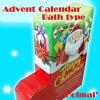 クリスマスブーツアドベントカレンダー♪入浴剤入浴用お風呂用無料ラッピングクリスマスプレゼントバスセット