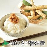 山わさび醤油漬(100g入瓶)蝦夷山わさび北海道ご飯のおとも酒の肴いしみず商店