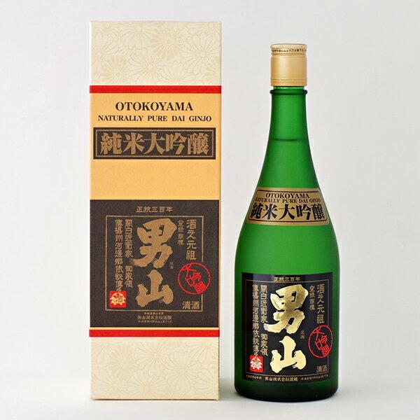 男山(おとこやま) 純米大吟醸 720ml(布製箱入) 日本酒 北海道