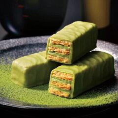 抹茶の上品な味わいをサクサクのパイとともにお召し上がりくださいISHIYA 石屋製菓 美冬 抹茶(...