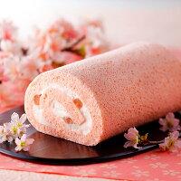ISHIYA (石屋製菓) 桜ロールケーキ 1本 【冷凍便商品】