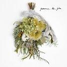 pomme.de.pin(ポムドパン)季節のドライフラワースワッグ