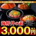 【送料無料】クーポン配布中!まぐろ丼Aセット(マグロ漬け2p・ネギトロ2P+サー...