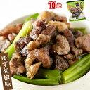 日向屋 鶏の炭火焼 ゆず胡椒味 100g×10個 鶏 鶏の炭火焼き送料無料/常温便