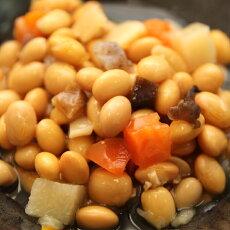 【全国送料無料】安心安全国内加工品☆栄養たっぷり7品目の大豆うま煮たっぷり1kg/常温/メール便配送