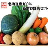 北海道産 野菜セット詰め合わせ じゃがいも 玉ねぎ 大根 人参 ミニトマト きゅうり 小松菜 サラダ菜 小葱 豆苗