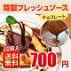 送料無料 チョコレートソース 10袋入
