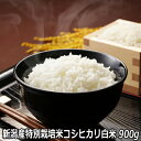 新米 30年産新潟産特別栽培米コシヒカリ 白米 900g(6...