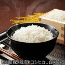 令和2年産 新潟県産 特別栽培米 コシヒカリ白米 3kg 【精米済】送料無料 [ 白米 お取り寄せ ]一等米農薬節減(7割減) 有機肥料栽培米・残留農薬ゼロ(検査済) 安全安心なお米です。