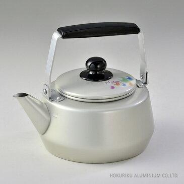 エシャロット ケットル(やかん) /3L湯沸かし アルミ 軽い アルマイト 日本製 ガス火 軽量