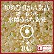 ゆめぴりか 玄米 30Kg 送料無料 北海道産 28年産 第一区分S 一等米 A次品 北海道米 食味ランキング 特A受賞