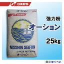 オーション 25kg パン用強力粉 業務用 小麦粉 【日清製粉】【RCP】