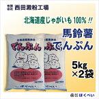 北海道産 ばれいしょ でんぷん (5kg×2) 片栗粉 馬鈴薯 澱粉