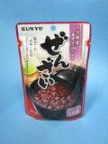 ぜんざい パウチ 北海道産小豆 使用 (160g×6個入) 【サンヨー堂】 【メール便送料無料】
