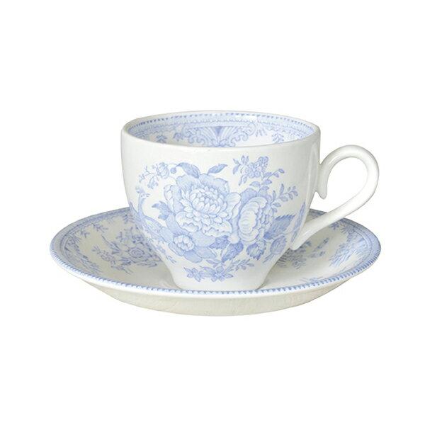 Burleigh Asiatic Pheasants Cup & Saucerバーレイ ブルーアジアティックフェザンツ カップ&ソーサー [Breaktime]