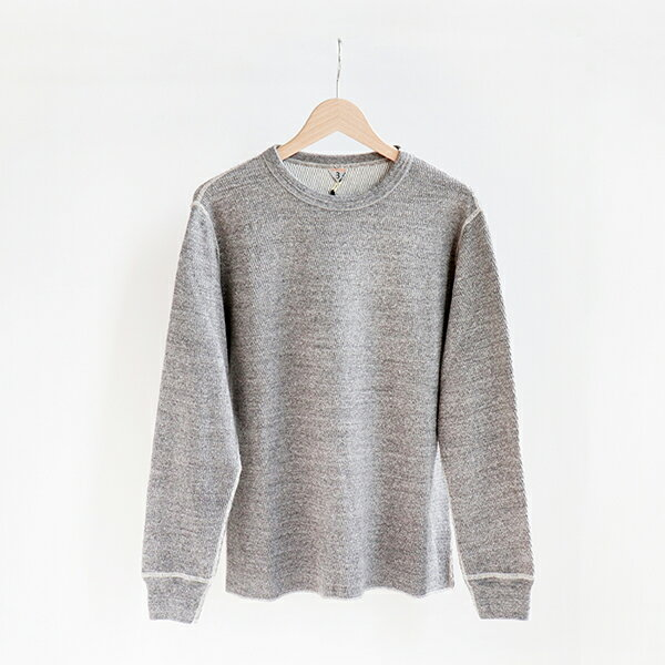 トップス, Tシャツ・カットソー FilMelange DAN Duofold Honeycomb thermal shirt Melange
