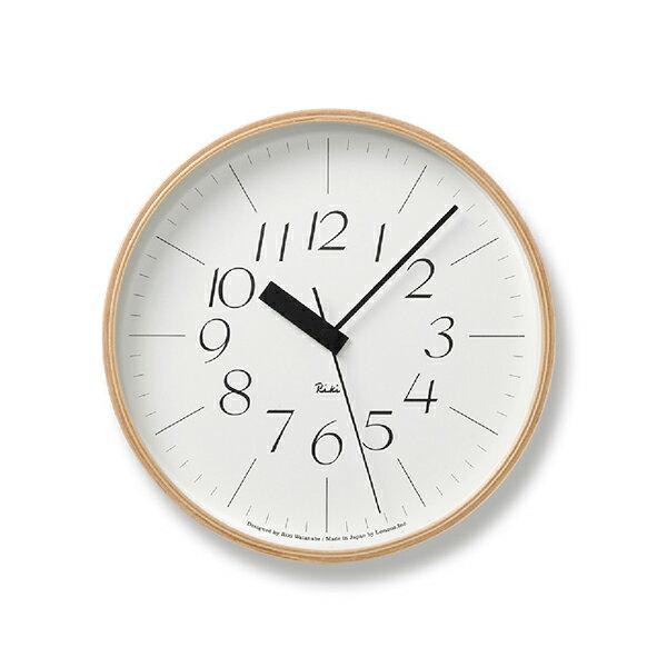 LEMNOS RIKI CLOCK RCレムノス リキクロック RC 電波時計 0710 25.4cm