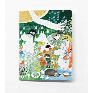 Moomin ムーミン Putinki プティンキ ミニノートブック ( デンジャラスジャーニー )【北欧雑貨】