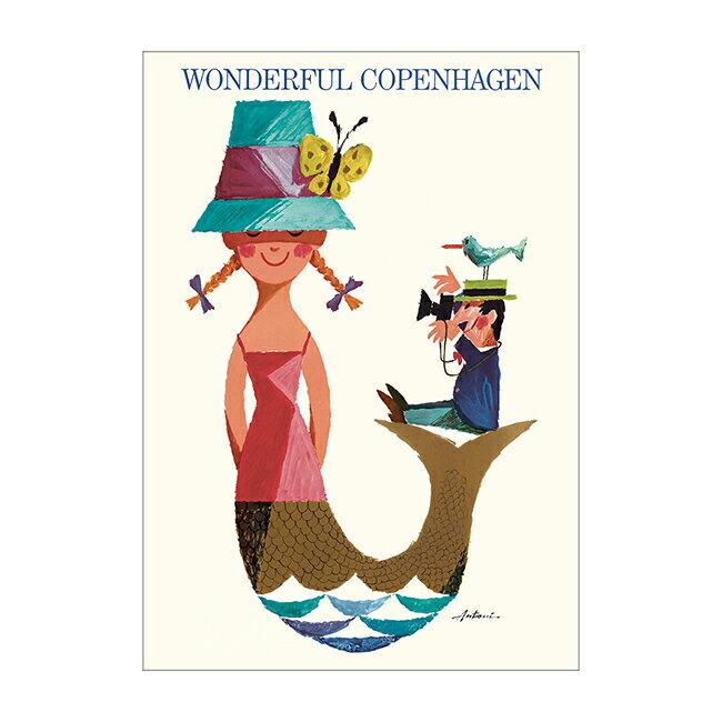 紙製品・封筒, グリーティング・カード Ib Antoni A5 ( WONDERFUL COPENHAGEN )