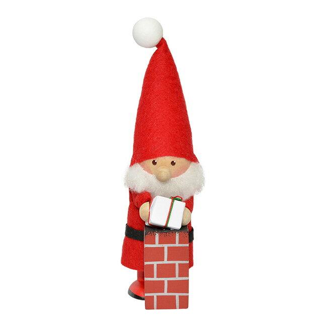 NORDIKA nisse ノルディカ ニッセ クリスマス 木製人形 (プレゼントを届けるサンタ / NRD120537)【北欧雑貨】