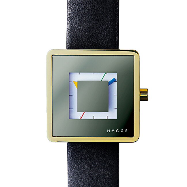 HYGGE ヒュッゲ ウォッチ 2089 SERIES WATCH Leather ( Gold / HGE020082 )【北欧雑貨】