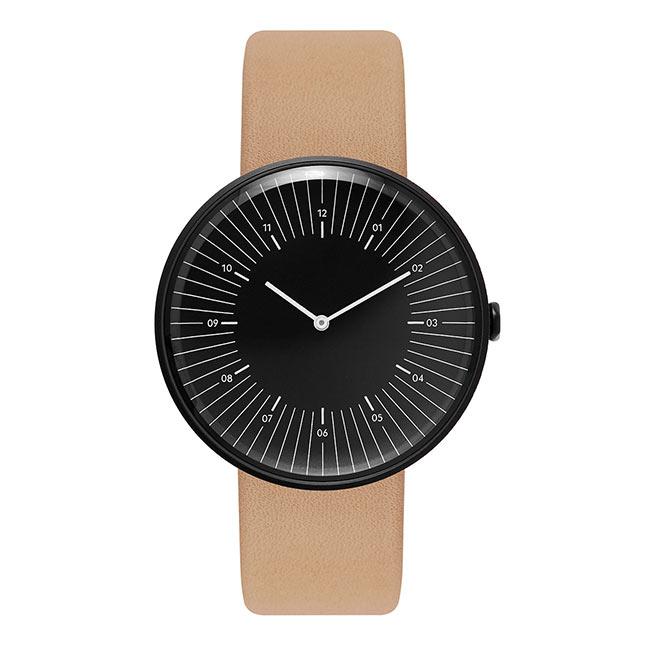 腕時計, 男女兼用腕時計 Nomad OUTLINE BLACK BLACK NATURAL ( NMD020013 )