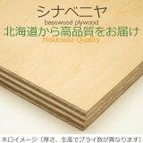 シナベニヤ 準両面 DIY 木材 厚さ21mmx巾600mmx長さ900mm 6.1kg 安心のフォースター 端材 ベニヤ板