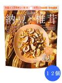 MD大豆習慣納豆×椎茸6袋入12個(1ケース)