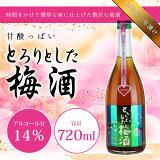 ホワイトリカーベースの梅酒 【無添加三年漬け】甘酸っぱいとろりとした梅酒 720mL