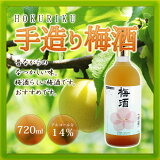 ホワイトリカーベースの梅酒 【おすすめ】HOKURIKU 手造り梅酒 720mL