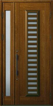 YKKAP玄関 玄関ドア 通風プロント[Aタイプ] 親子[入隅用] ドア高23タイプ:S11型[幅1135mm×高2330mm]【ykk】【YKK玄関ドア】【通風ドア】【網戸付き】【通風玄関】