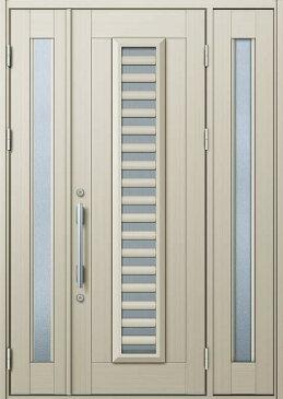 YKKAP玄関 玄関ドア 通風プロント[Cタイプ] 袖付親子 ドア高23タイプ:S11型[幅1640mm×高2330mm]【ykk】【YKK玄関ドア】【通風ドア】【網戸付き】【通風玄関】