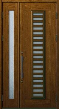 YKKAP玄関 玄関ドア 通風プロント[Aタイプ] 親子 ドア高20タイプ:S11型[幅1235mm×高2018mm]【ykk】【YKK玄関ドア】【通風ドア】【網戸付き】【通風玄関】