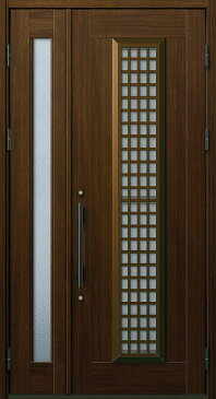 YKKAP玄関 玄関ドア 通風プロント[Aタイプ] 親子 ドア高20タイプ:S12型[幅1235mm×高2018mm]【ykk】【YKK玄関ドア】【通風ドア】【網戸付き】【通風玄関】