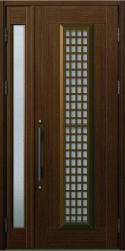 YKKAP玄関 玄関ドア 通風プロント[Aタイプ] 親子[入隅用] ドア高20タイプ:S12型[幅1135mm×高2018mm]【ykk】【YKK玄関ドア】【通風ドア】【網戸付き】【通風玄関】