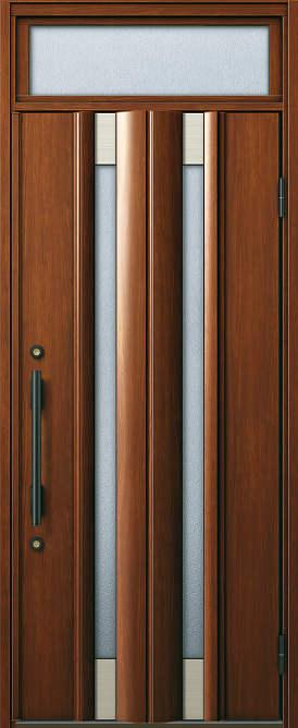 YKKAP玄関断熱玄関ドアヴェナート[Aタイプ]片開きD2仕様[ランマ付ドア高20タイプ]:S02型[幅922mm×高2330mm]