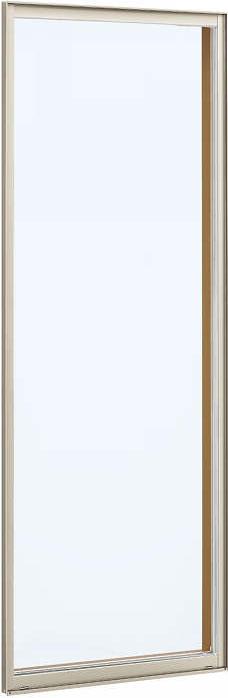 YKKAP窓サッシ装飾窓フレミングJ[Low-E複層防犯ガラス]FIX窓2×4工法[Low-E透明5mm+合わせ型7mm]:[幅405mm×高1845mm]