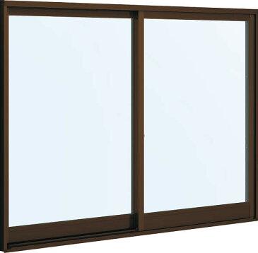 YKKAP窓サッシ 引き違い窓 フレミングJ[複層防音ガラス] 2枚建 半外付型[透明5mm+透明4mm]:[幅640mm×高970mm]【YKK】【窓サッシ】【防音サッシ】【防音窓】【ペアガラス】