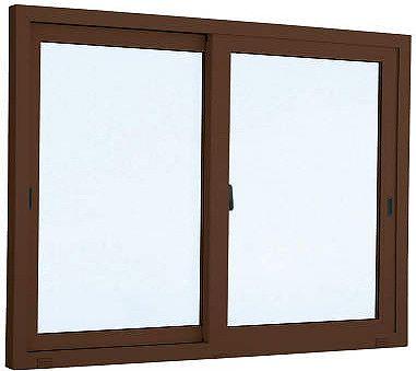 YKKAP窓サッシ引き違い窓エピソード[複層防音ガラス]2枚建半外付型[透明4mm+透明3mm]:[幅1690mm×高1370mm]