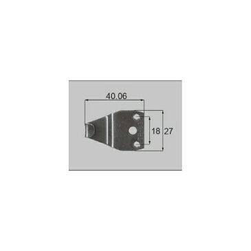 LIXIL補修用部品 窓・サッシ用部品 クレセント アルミサッシ:クレセント受け[AZGB0010]【リクシル】【TOSTEM】【トステム】【引き違い窓】【引違い窓】【鍵】【くれせんと】