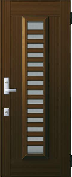 YKKAP玄関 リフォーム玄関ドア 取替玄関ドア アミティII用 片開き:S11型 ドア本体幅:754mm×高さ:1900mm