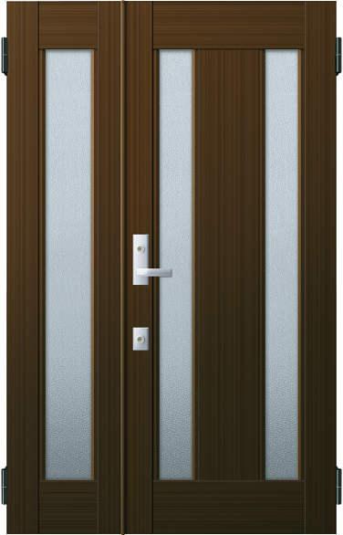 YKKAP玄関 リフォーム玄関ドア 取替玄関ドア アミティII用 親子:S02型 親ドア本体幅:754mm×高さ:1900mm 子ドア本体幅:414mm×高さ:1900mm