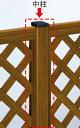 YKKAPガーデンエクステリア フェンス スタンダード 間仕切柱施工用部材:中柱T60 1型・2型用[高600mm]【YKK】【YKKフェンス】【アルミフェンス】【境界】【仕切り】【柵】【ガーデン】【花壇】【ガーデニング】