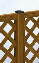 YKKAPガーデンエクステリア フェンス スタンダードシステム 自立建て施工:角柱T40[高441mm]【YKK】【YKKフェンス】【アルミフェンス】【境界フェンス】【仕切り】【柵】【ガーデン】【目隠し】