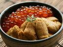利尻産「キタムラサキウニ」&いくら醤油漬セット※お届け日のご指定はできません【A】