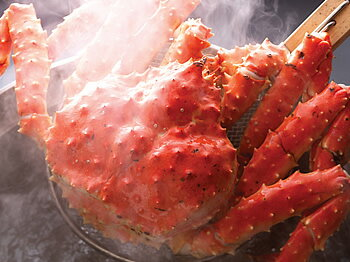 「蟹の匠」茹で上げ!本タラバガニ2.5kg前後(急速冷凍)【A】