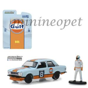 車・バイク, レーシングカー  greenlight 51195 d bishop datsun 510 wide body 8 164 gulf racing with figure