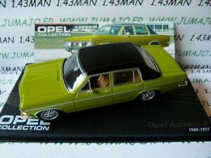 車・バイク, レーシングカー  ope84r voiture 143 ixo eagle moss opel collection admiral b 19691977