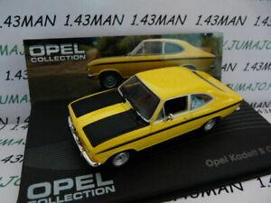車・バイク, レーシングカー  ope56r voiture 143 ixo eagle moss opel collection kadett b coupe